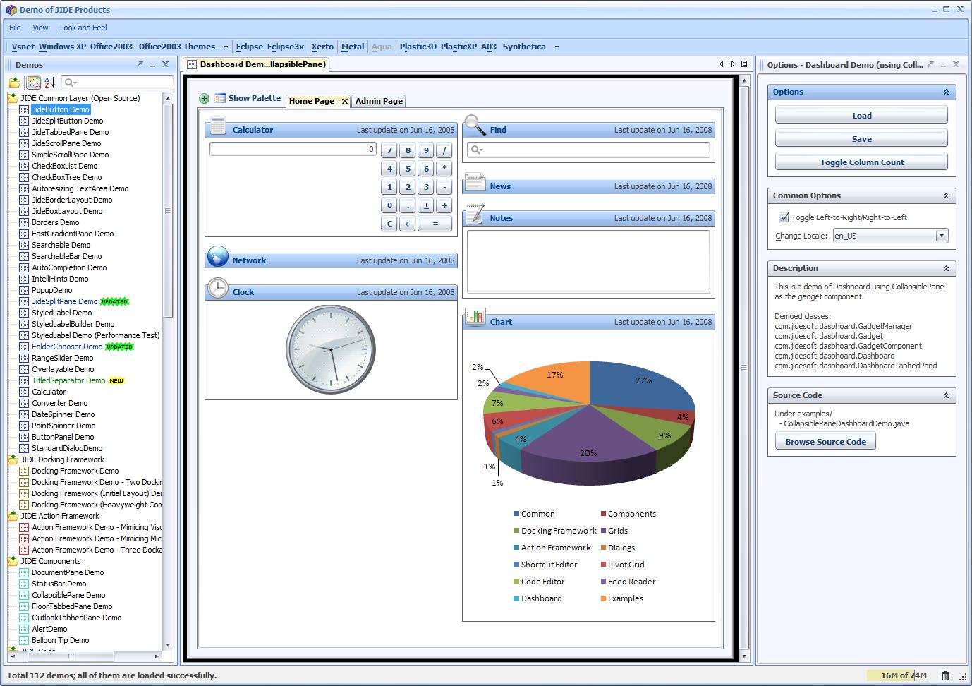 JIDE Software - Version History