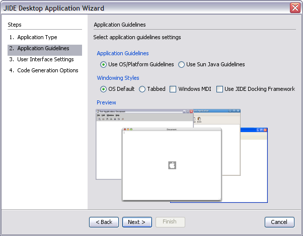 JIDE Software - JIDE Desktop Application Framework - A